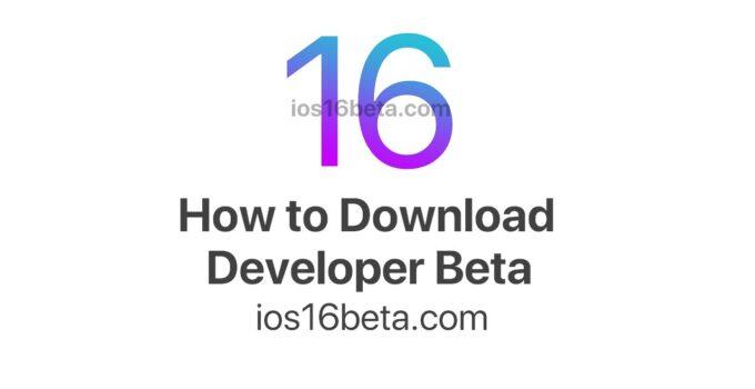 How to download iOS 16 Developer Beta